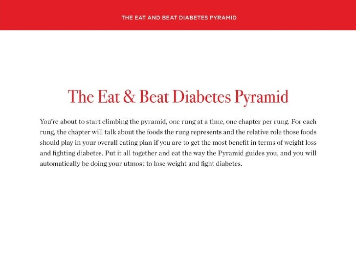 Did You Know ...      that you can Eat & Beat Diabetes?