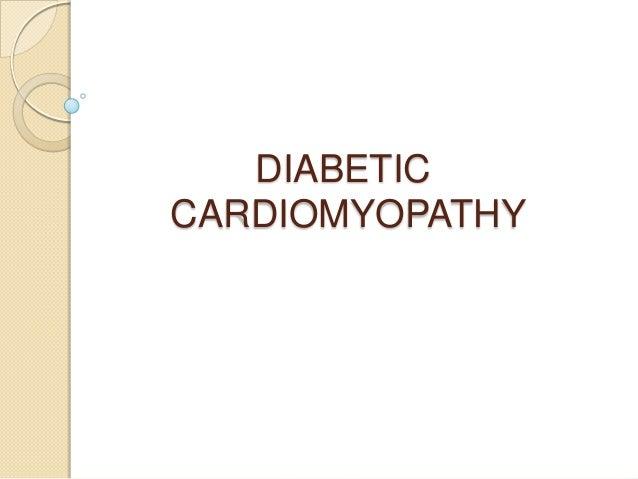 DIABETICCARDIOMYOPATHY