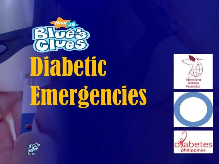 DiabeticEmergencies