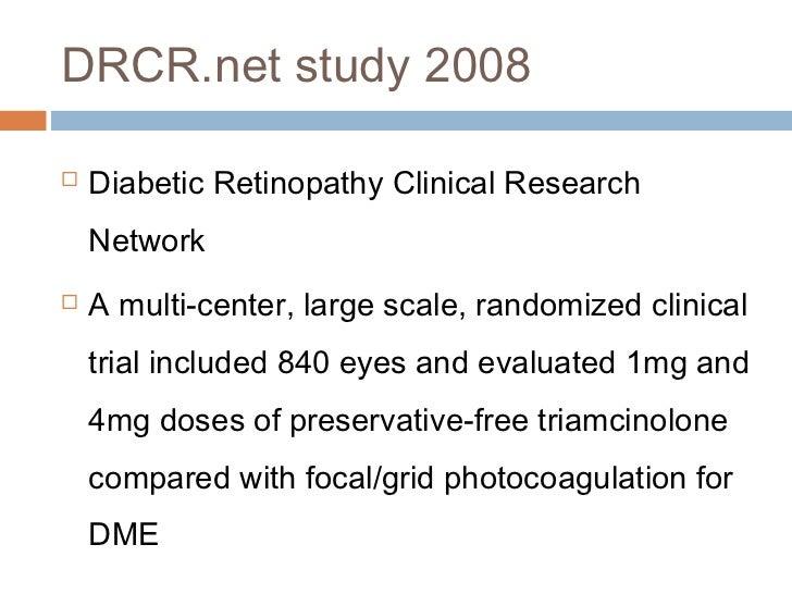 triamcinolone for diabetic macular edema