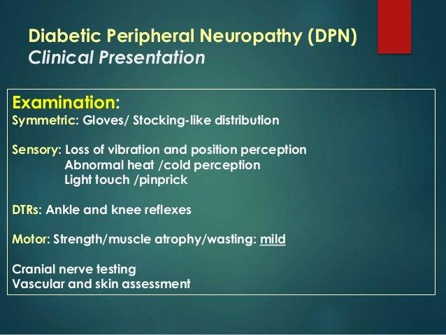 Peripheral physiotherapy associates neuropathy