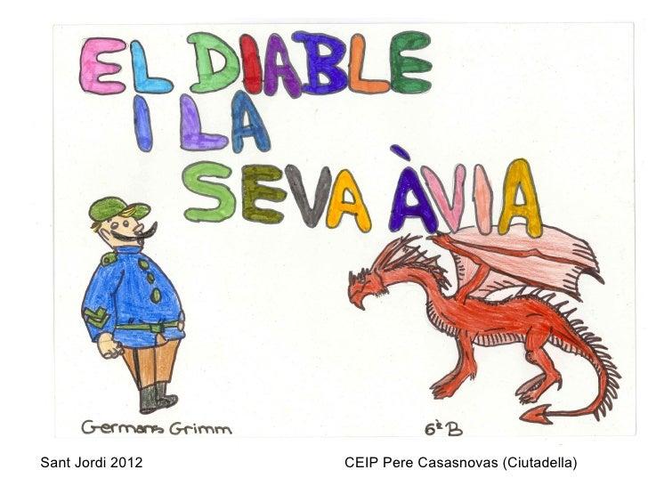 Sant Jordi 2012   CEIP Pere Casasnovas (Ciutadella)