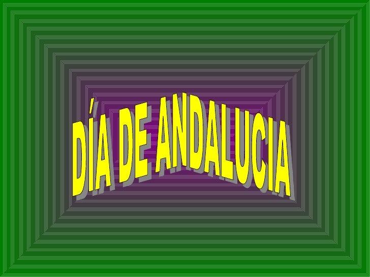 DÍA DE ANDALUCÍA por Mª Conchi Vargas Rueda
