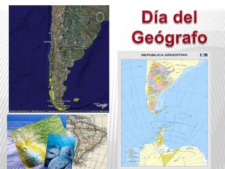 Dia del geografo for Noticias del dia espectaculos argentina