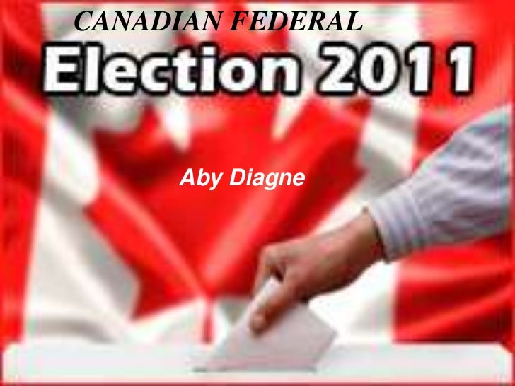 Diagne Aby Canadian Elections 2011