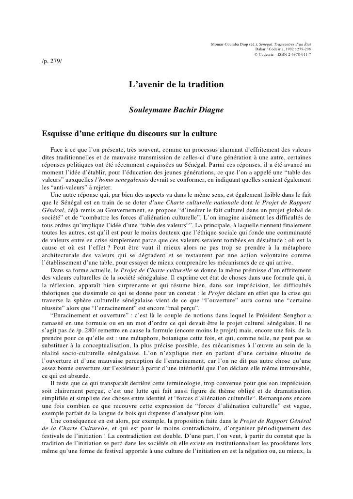 Momar-Coumba Diop (éd.), Sénégal. Trajectoires d'un État                                                                  ...