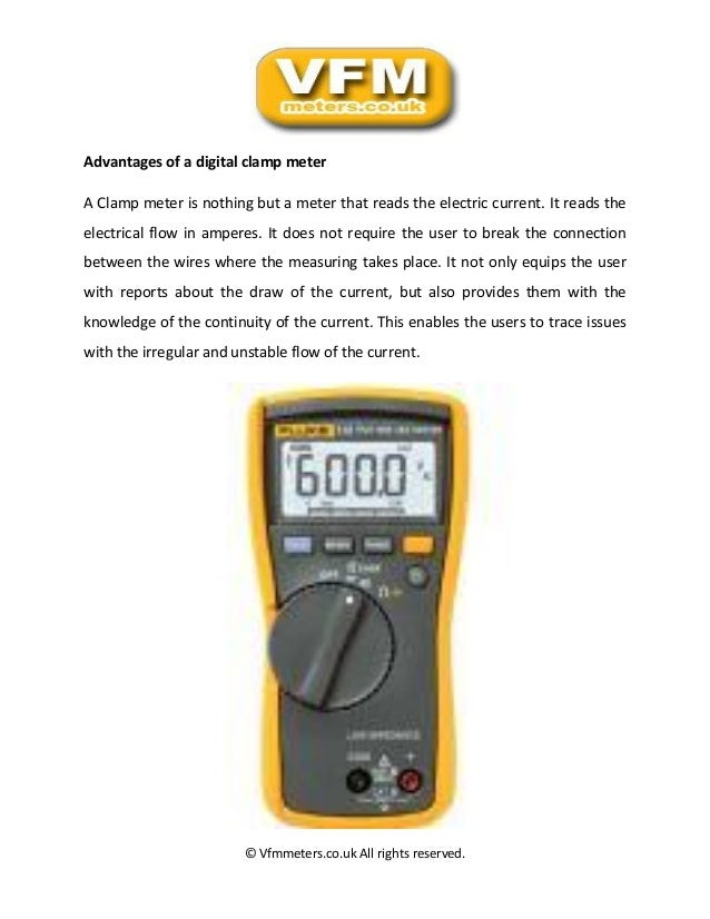 Using Digital Clamp Meter : Diagnose faulty circuits with simple procedures using a