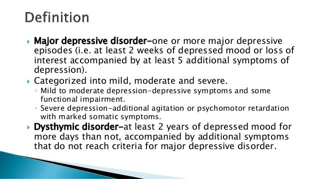 Major Depressive Disorder on emaze