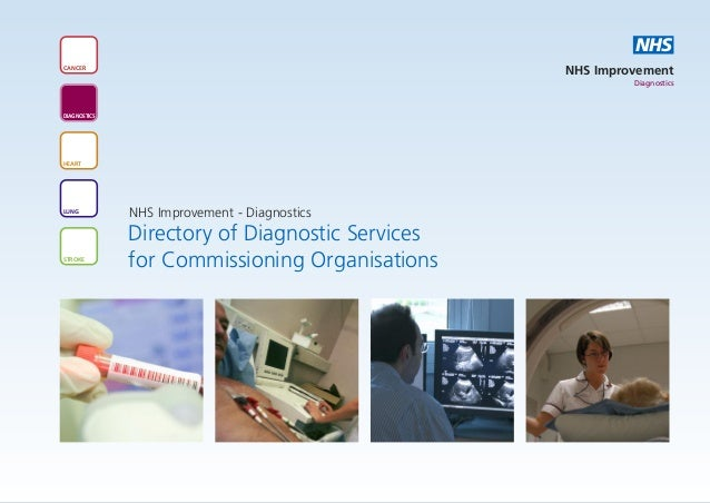 Directory of Diagnostic Services for Commissioning Organisations