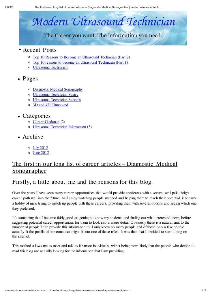 Diagnostic medical sonography pdf