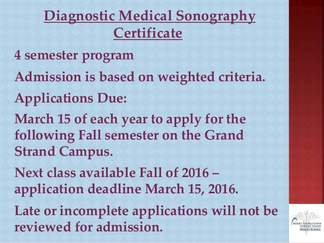 how to get a sonography certificate