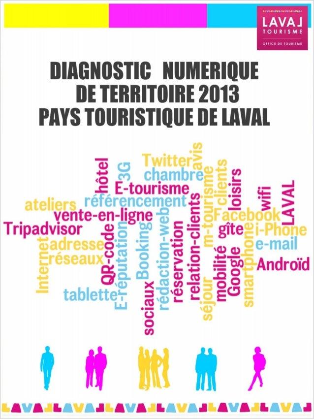 Diagnostic Numerique du Pays Touristique de Laval