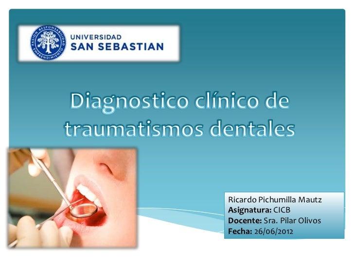Ricardo Pichumilla MautzAsignatura: CICBDocente: Sra. Pilar OlivosFecha: 26/06/2012