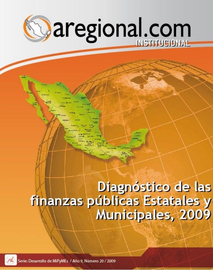 Diagnostico finanzas estatales municipales 2000 08