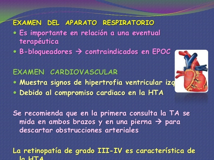 Diagnostico de hipertension arterial