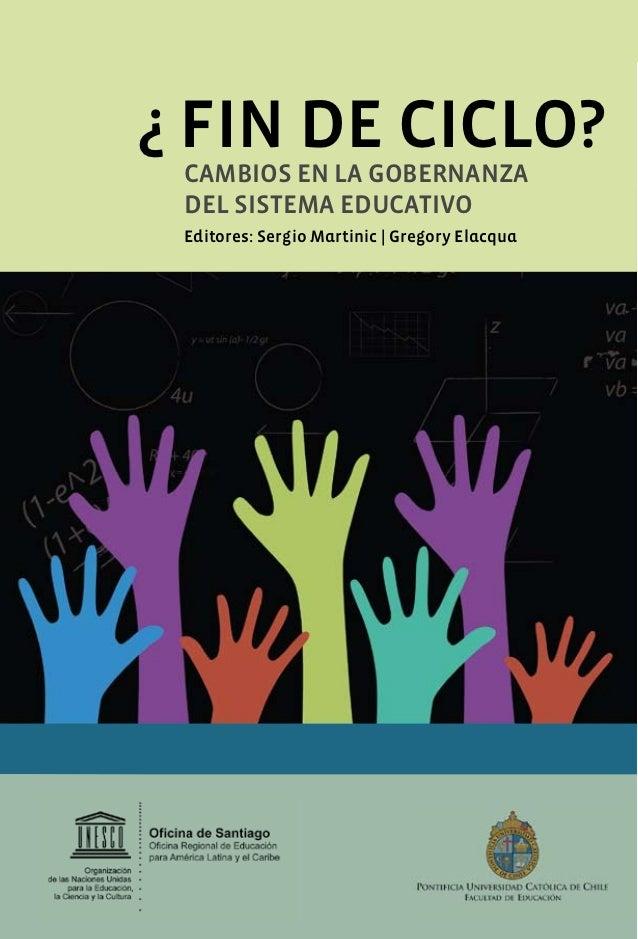 Diagnostico y desafios de la educacion publica de gestion local