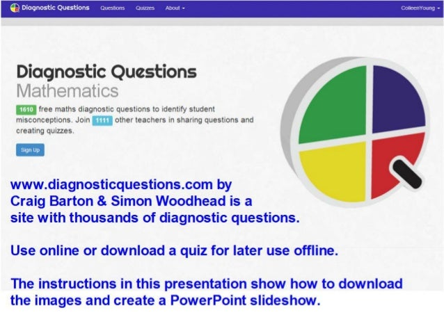 Diagnostic questions   download and create PowerPoint slideshow