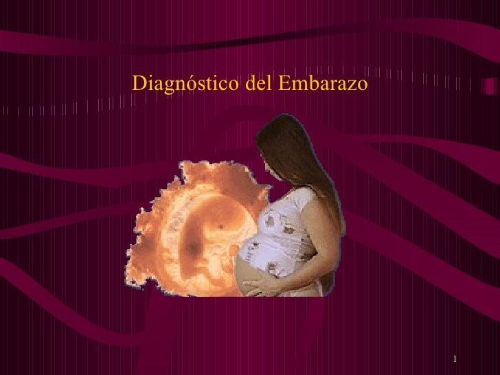 DiagnóStico Del Embarazo Act.I
