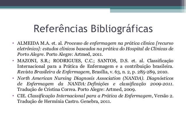 Processo de Enfermagem Nanda Processo de Enfermagem na
