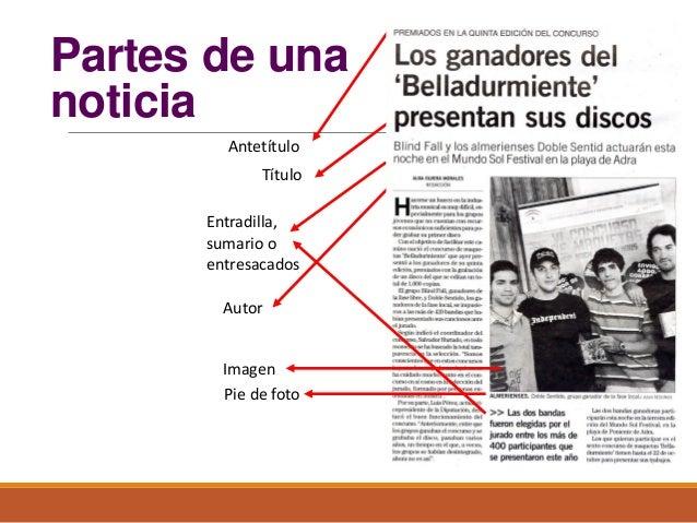 Diagramaci n de un periodico for Cuales son las partes de un periodico mural