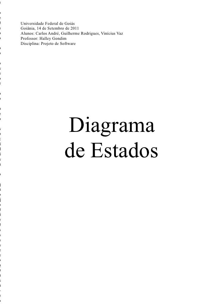 sest   Universidade Federal de Goiása   Goiânia, 14 de Setembro de 2011d   Alunos: Carlos André, Guilherme Rodrigues, Viní...