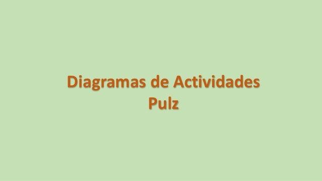 Diagramas de Actividades Pulz