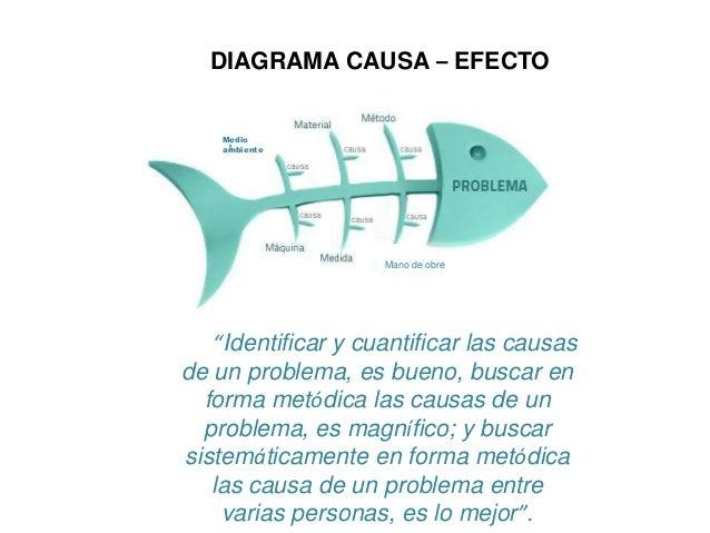 Diagrama Causa Efecto Ejemplo Practico Diagrama Causa – Efecto Medio