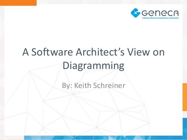 A Software Architect's View On Diagramming