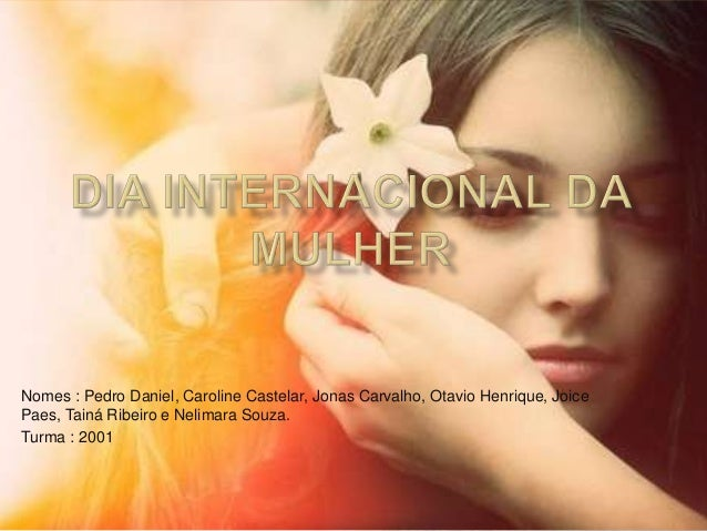 Nomes : Pedro Daniel, Caroline Castelar, Jonas Carvalho, Otavio Henrique, Joice Paes, Tainá Ribeiro e Nelimara Souza. Turm...