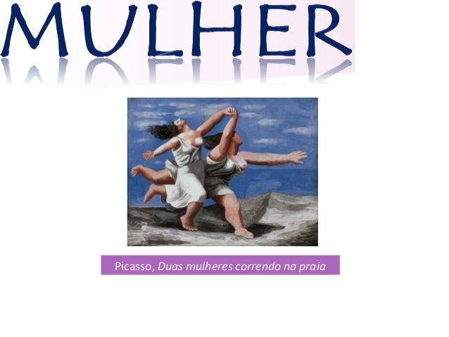 Picasso, Duas mulheres correndo na praia