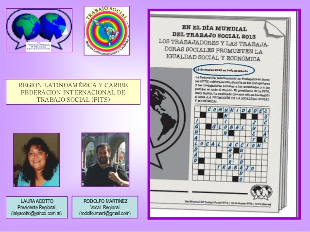 FITS       FEDERACION INTERNACIONAL           DE TRABAJO SOCIAL       Región Latinoamérica y Caribe   REGION LATINOAMÉRICA...