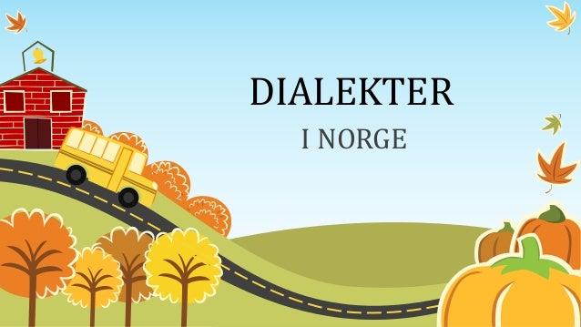 dialekter i norge nurumassasje