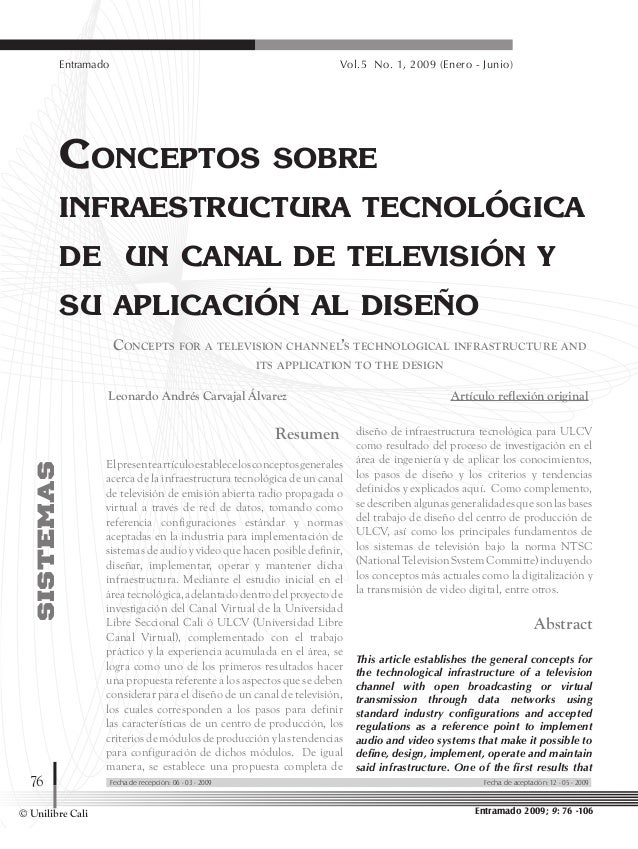 Dialnet conceptos sobreinfraestructuratecnologicadeuncanald-3993070