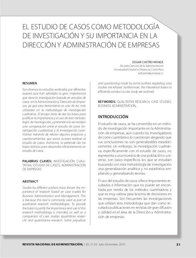 Dialnet el estudiodecasoscomometodologiadeinvestigaciony-sui-3693387