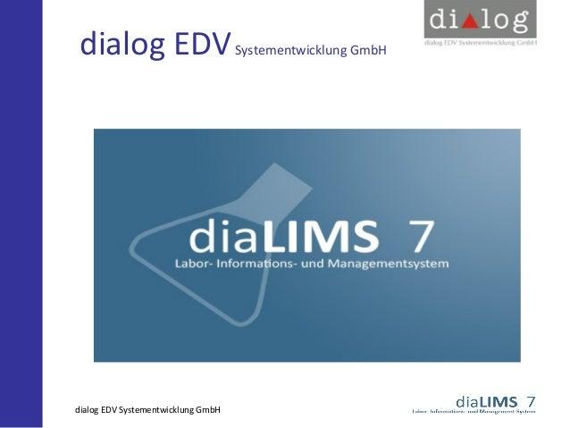dialog EDV Systementwicklung GmbH  dialog EDV Systementwicklung GmbH