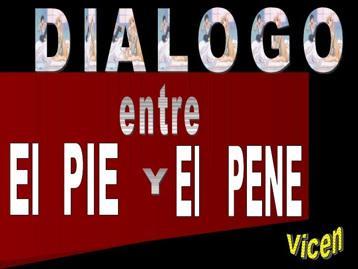 Dialogodelpieconelpene