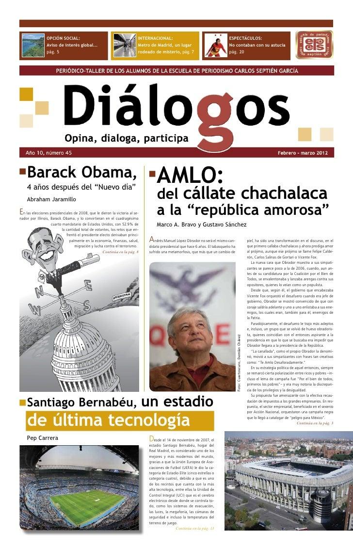OPCIÓN SOCIAL:                                           INTERNACIONAL:                                        ESPECTÁCULO...