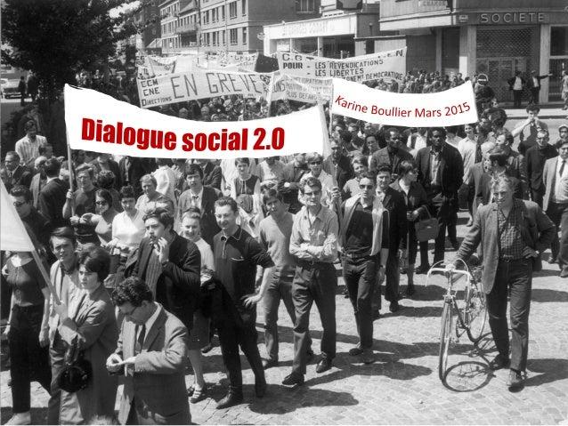 Dialogue  social? Vous  avez  dit  dialogue  social?