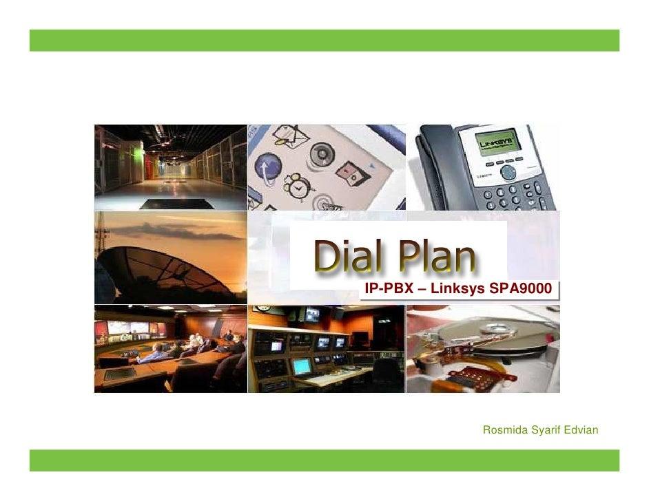 Dial Plan