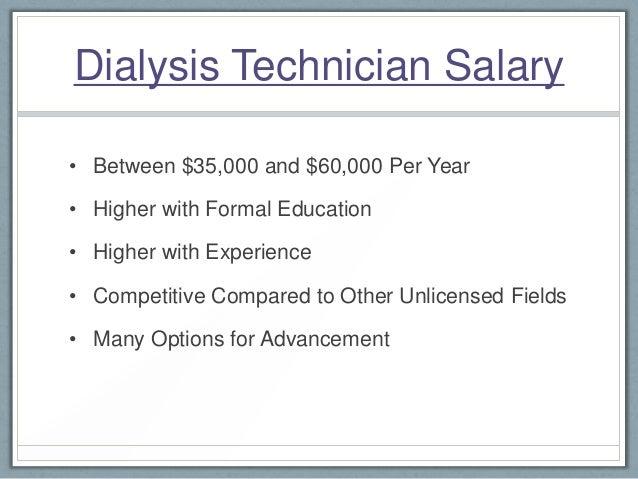 dialysis technician career path