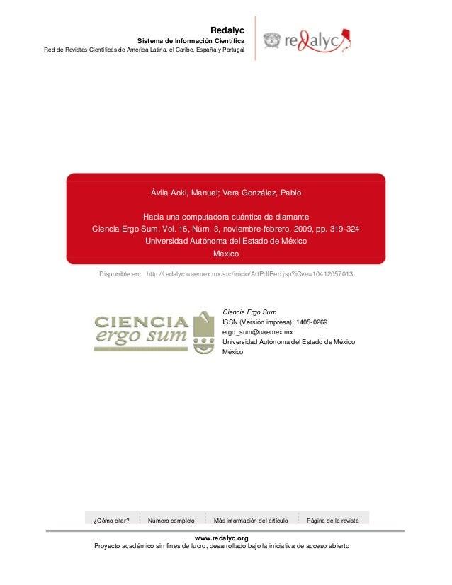 Disponible en: http://redalyc.uaemex.mx/src/inicio/ArtPdfRed.jsp?iCve=10412057013RedalycSistema de Información CientíficaR...