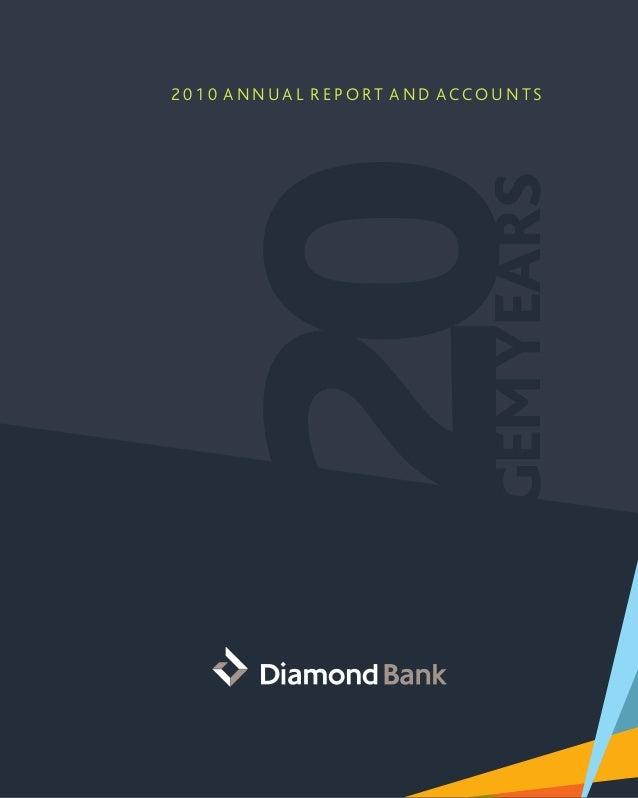 Diamond Bank Annual Report 2010