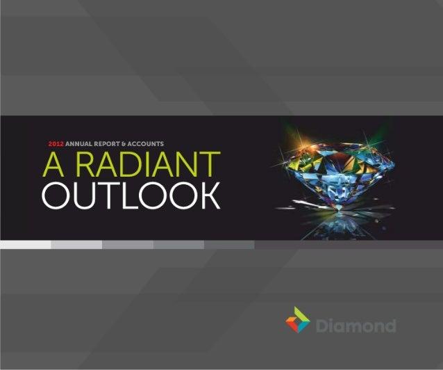 Diamond Bank Annual Report 2012
