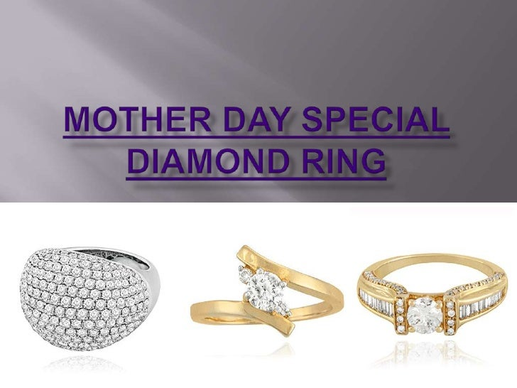 MOTHER DAY SPECIAL DIAMOND RING<br />