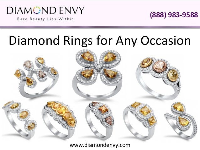 (888) 983-9588Diamond Rings for Any Occasion          www.diamondenvy.com