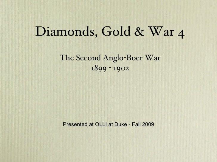 Diamonds Gold & War4