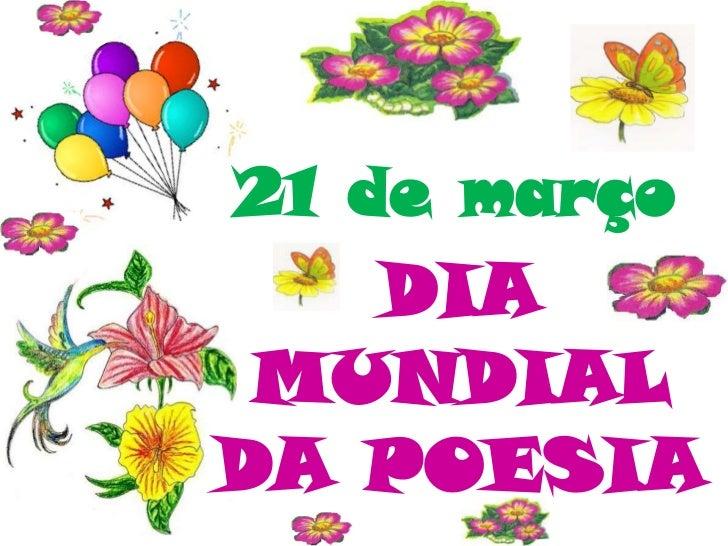 Dia Mundial da Poesia 2011