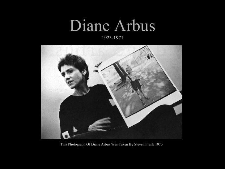 Diane Arbus 1923-1971 This Photograph Of Diane Arbus Was Taken By Steven Frank 1970