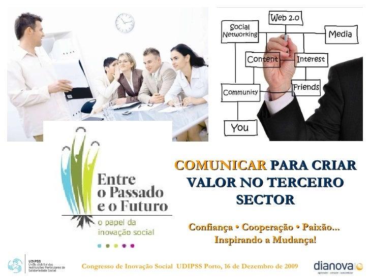 Dianova Comunicacao Congresso Inovacao Social UDIPSS