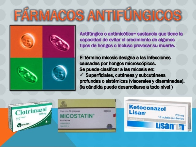 antifungicos - candidiasis oral